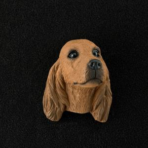 Irish Setter 3D Pet Head Cremation Urn Applique
