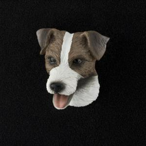 Jack Russell Terrier (rough coat) 3D Pet Head Cremation Urn Applique