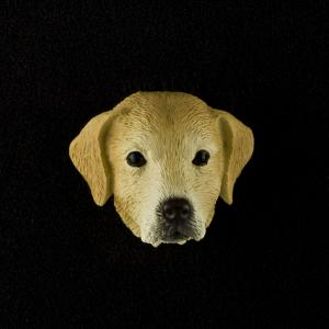 Labrador Retriever (yellow) 3D Pet Head Cremation Urn Applique