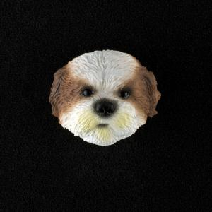 Shih Tzu (sport cut) 3D Pet Head Cremation Urn Applique