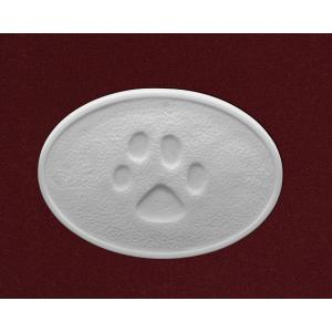 Dog Paw- Marble Pet Urn Applique