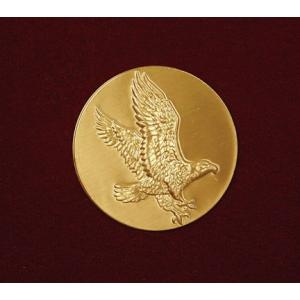 Eagle on Gold Disc