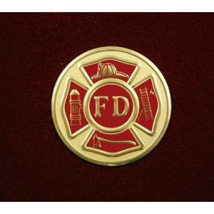 Fire Department, Urn Applique