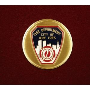 NYC Fire Department, Urn Applique