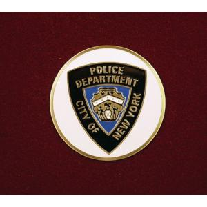 NYC Police Department, Urn Applique