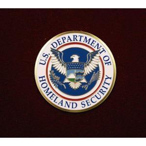 US Dept Homeland Security, Urn Applique