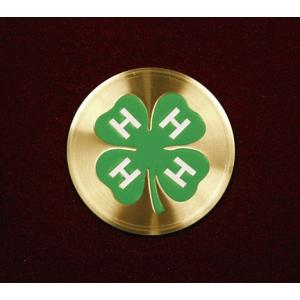 4-H Club, Urn Applique